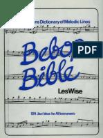 Les Wise Bebop Bible