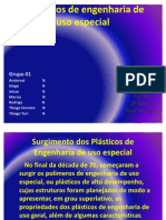 Polímeros de engenharia de uso especial