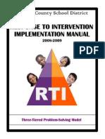 rti implementation manual 1