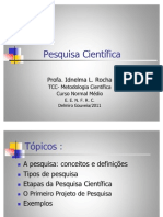 apresentação pesquisa tcc