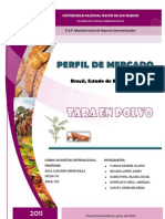 Perfil de Mercado Tara RS - Brasil