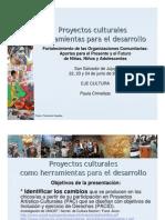 Encuentro Organizaciones NOA - MDS - Eje cultura 2011
