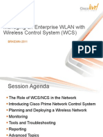 Managing an Enterprise WLAN with Cisco Prime NCS & WCS