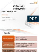 Wireless LAN Security, Policy, and Deployment Best Practices