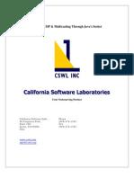 Tcp-Ip, Udp & Multi Casting Through Java's Socket