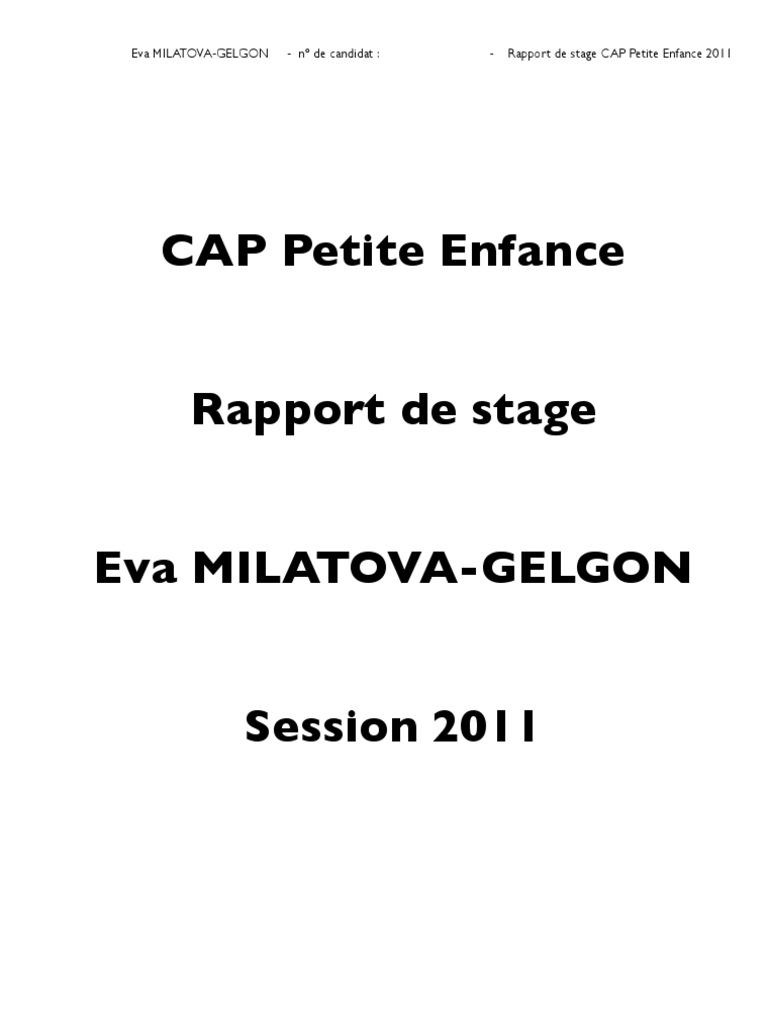 Top Stage CAP Petite Enfance 19 Avril IT14