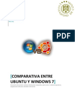 Comparación Ubuntu vs Windows