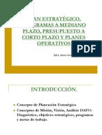Plan Estrategico Programas a Mediano Plazo