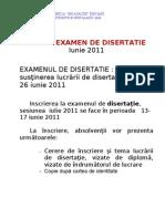 anunt disertatie iulie 2011
