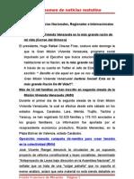 Resumen de Noticias Matutino 11-07-2011