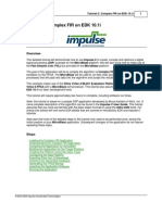 Impulse Complex Fir Filter Tutorial for Xilinx Ml401 Micro Blaze