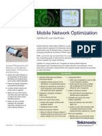 Mobile Network Optimization Datasheet
