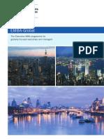 EMBA Global Brochure