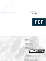 NBA2K11 PC Online Manual v1