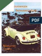 Otago VW Enthusiasts Club Newsletter July 2011
