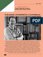 (Entrevista Paulo Arantes - Revista Adusp Abril-98)r13a04