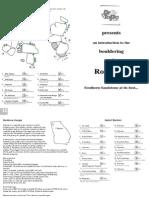 Rocktown Bouldering Map