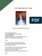 52253217 Novena a La Virgen Maria de Cuapa