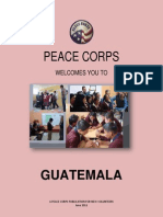 Peace Corps Guatamala Welcome Book - June 2011