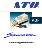 Speedstar Formatting