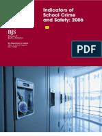 School Crime Report 2006