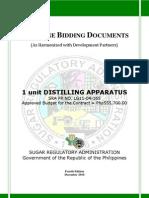 PBD Distilling Apparatus