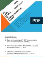 Decreto 184 contrataciones por parte del estado