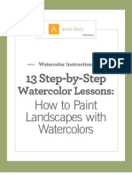 Watercolor Lessons eBook