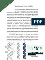 Identifikasi Melalui Tes DNA