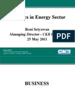 CKB - Logistic in Energy Sector-STMT