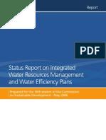 UNW Status Report IWRM