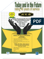 ACS Birthday Celebration Flyer
