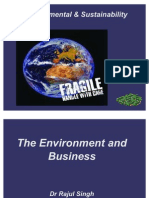 Introduction to Environment Sustainability (1)
