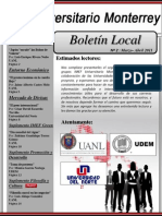 Monterrey-2do Boletín 2011