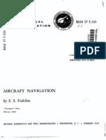 Aircraft Navigation NASA Book