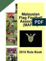 MAFFA Flag Football Rule Book - MFFL 2010 v1.1.0