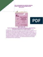 Boletín Julio 2011 IMDF