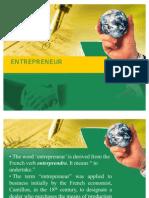 Entrepreneural Characteristics