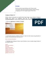 Konfigurasi TCP-IP Pada Linux