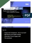 IBM Supply Chain Management Ppt