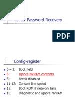 2.3 Password Recovery