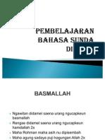 Pembelajaran Bahasa Sunda Di Paud