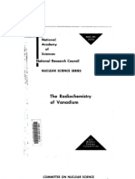 The Radio Chemistry of Vanadium.us AEC