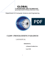 Cs2309 Lab Manual1