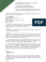 ORDONANŢĂ DE URGENŢĂ   Nr. 75 1999 actualiz in 2010
