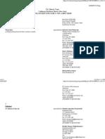 Docket Report -- Koh v SC Johnson