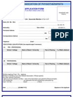 Iap Application Form