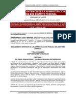4 Reglamento Interior de la Administracion Pública del DF (93)