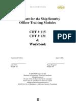 Rev Ver 270603 Procedure SSO Training Module Workbook