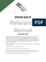 Epson ESC Referance Manual